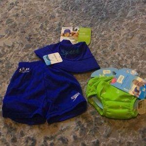 NWT Swim bundle 6-12 months